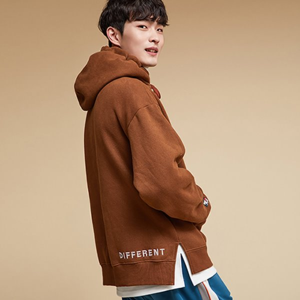 SOFT TOUCH HOODIE BROWN