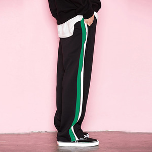 SIDE LINE TRACK PANTS GREEN