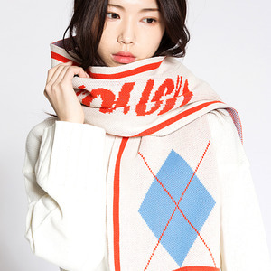 COLOR MUFFLER IVORY