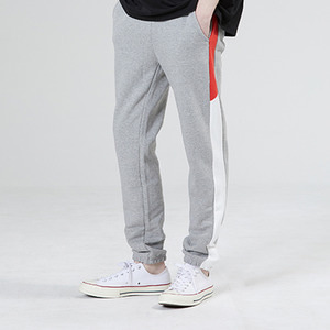 [기모]LINE SWEAT JOGGER PANTS GRAY
