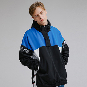 COLOR BLOCK ANORAK JACKET
