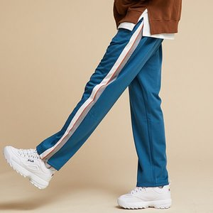 [기모]SIDE LINE TRACK PANTS TOPAZ