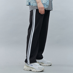 [기모]SIDE LINE TRACK PANTS GRAY