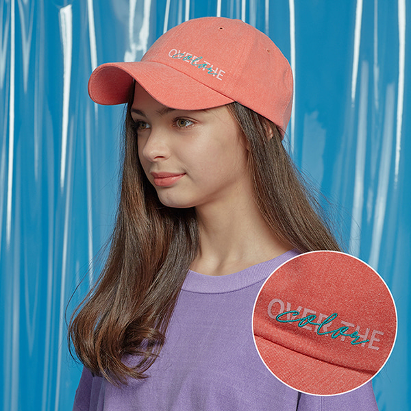 DAILY PIGMENT BALL CAP ORANGE