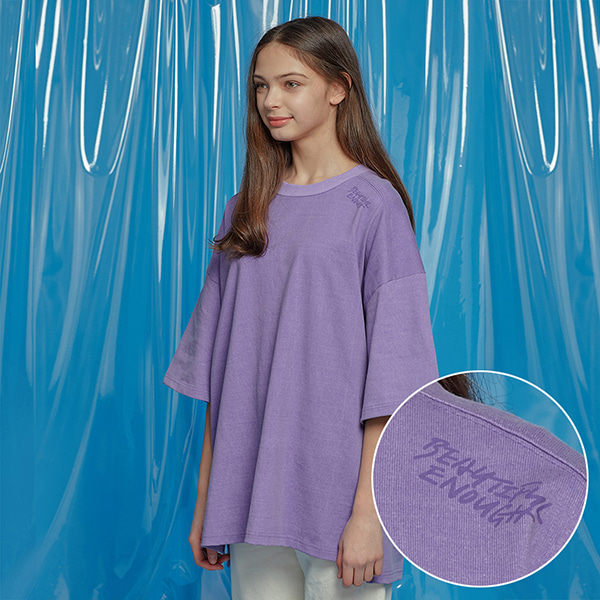 VENT PIGMENT OVERSIZED TEE PURPLE